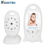 Wireless Baby Monitor 2 inch BeBe Baba Electronic Babysitter Radio Video Nanny Camera Night Vision Temperature Monitoring VB601