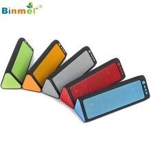 Binmer Портативный Беспроводной Bluetooth Стерео FM Динамик для смартфонов планшетный ноутбук Oct12 Прямая доставка motherlander