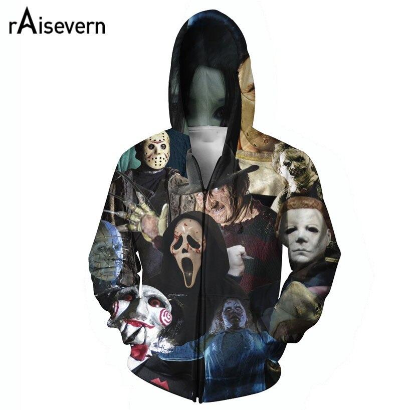 Horror movie hoodies