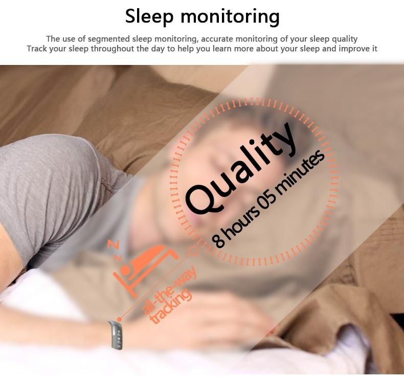 M2 Pro R5MAX Smart Fitness Bracelet Watch 50word Information display blood pressure heart rate monitor Blood oxygen PK Mi Band 3 (11)