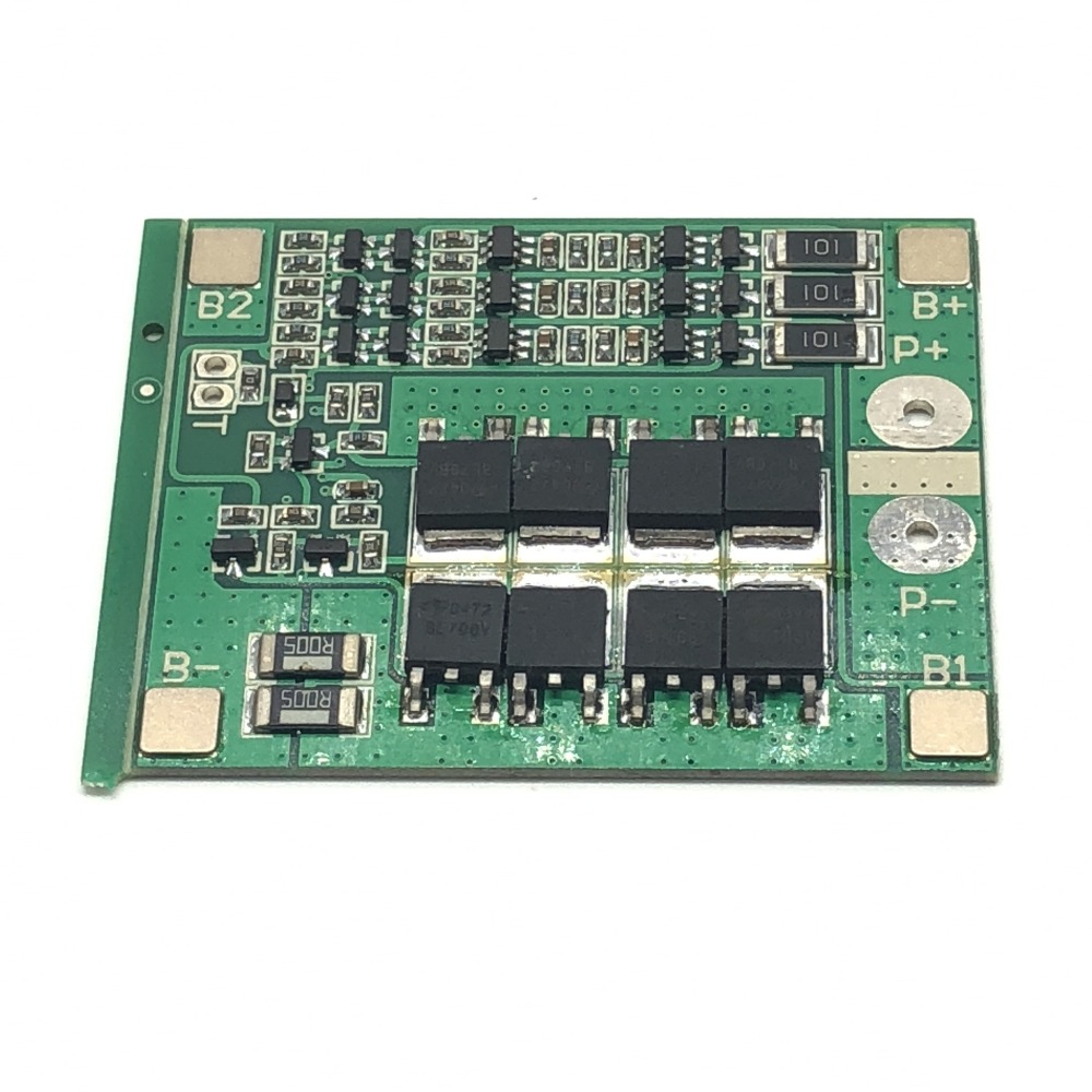купить ShenzhenMaker BMS 3S 11.1V 25A Protection PCB Board for 18650 Li-ion Lithium Battery With Balance Function по цене 110.84 рублей