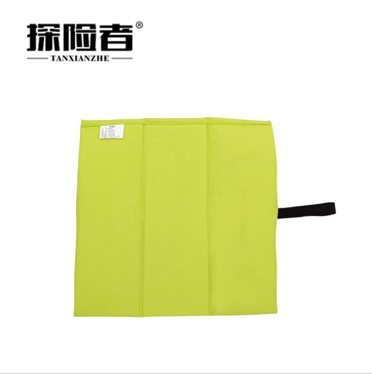 Camping Portable Outdoor Portable Spring Tour Mattress Folding Single Person Seat Cushion Mini Mat Park Wild Pad Small Cushion