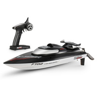 Original Feilun FT012 2.4G Brushless 45km/h High Speed RC Boat with Water Cooling Self righting System Racing Boat