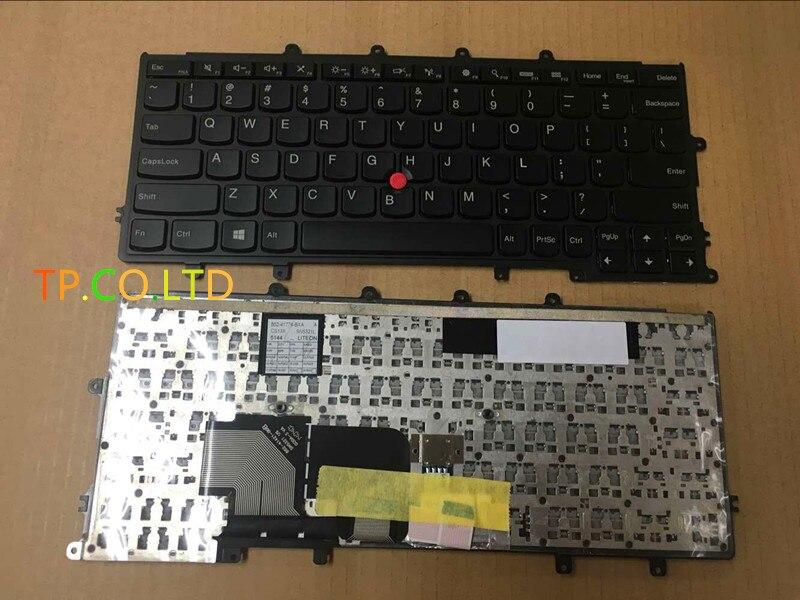 Véritable nouveau clavier américain pour Lenovo Thinkpad X230s X240 X240s ordinateur portable pas rétro-éclairé