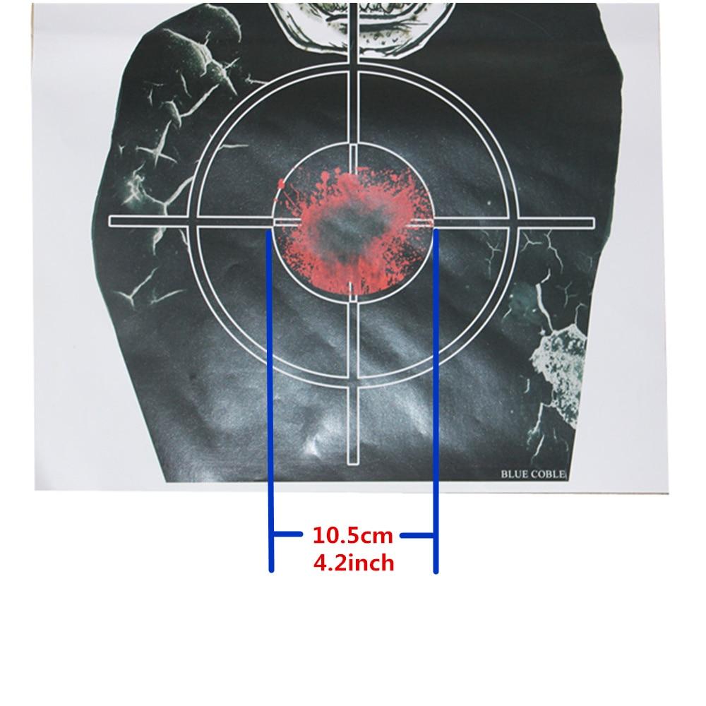 Corpse Target Paper Shooting Targets Game en vaardigheid Challenge - Jacht - Foto 3