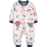 Yingzifang Baby Rompers Baby Boys Girls Cute Cartoon Clothes Newborn Baby Infant Spring Jumpsuits