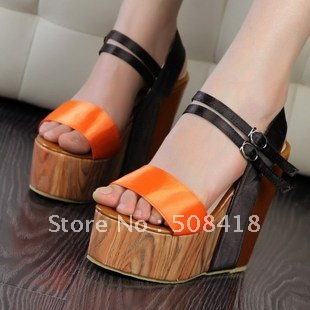 2012 latest fashion platform sandals for women high heel sandals