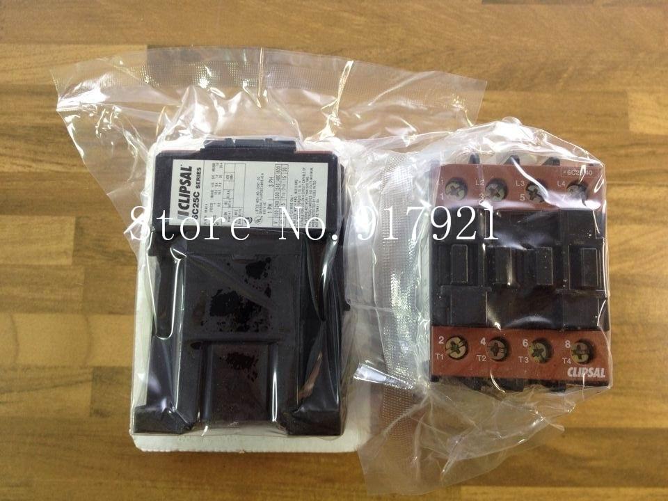 [ZOB] The original CLIPSAL Clipsal 6C25C/41 DC110V 40A genuine original DC contactor --2pcs/lot [zob] original original srd n4 dc48v 2no 2nc genuine original dc contactor 2pcs lot