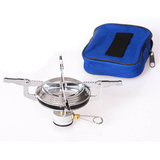 Portable Camping Stove Outdoor Picnic Folding Gas burners Outdoor ...