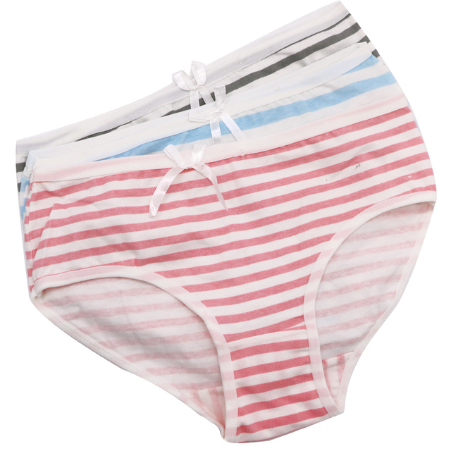 57c3ece483 1Pcs Striped Women s Underwear Panties Knickers Lingeries Lady Sexy  Seamless Briefs Panties Women Underwear Briefs Underpants