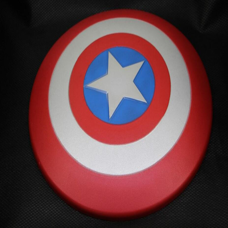 The Avengers Captain 30CM America Shield Cosplay property Toy EVA Soft material Ultralight toys Suitable for children to play the avengers civil war captain america shield 1 1 1 1 cosplay captain america steve rogers abs model adult shield replica