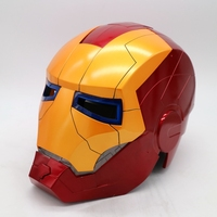 High quality Iron Man Helmet The Avengers Halloween mask ironman Led adult party COSplay masquerade masks Carnaval Costume