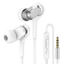 PTM P17 Headphones Sport Hifi Earphones with Mic Wired Headsets Super Bass 3.5mm Jack Running Earbuds for Xiaomi Iphone Samsung недорго, оригинальная цена