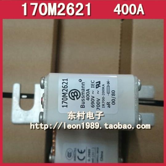 [SA]Eaton EATON BUSSMANN Fuses 170M2621 400A 690V fuse fast fuse 170m3819 din1 nh1 690v 400a
