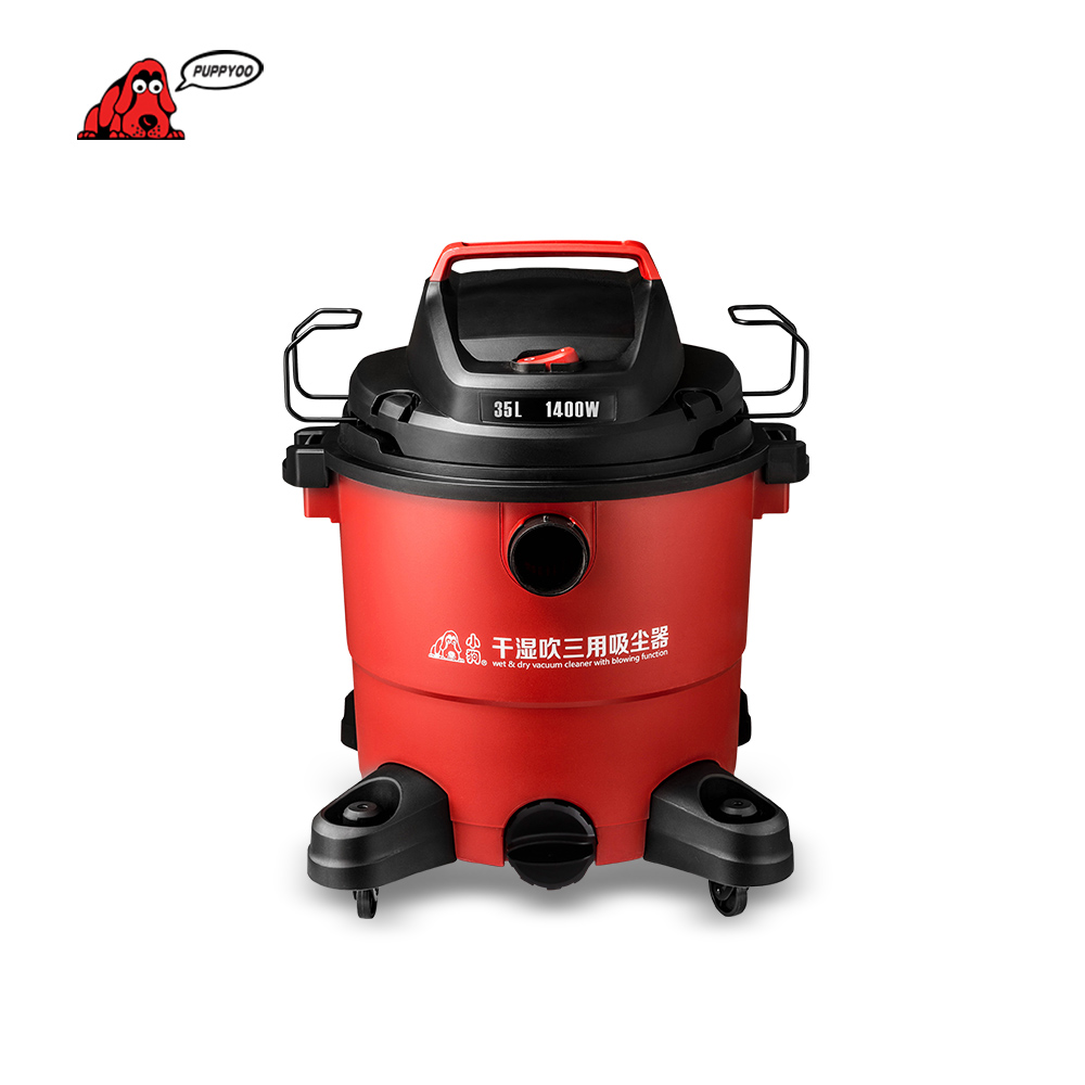 PUPPYOO Wet&Dry Aspirator High Suction Industrial Dust Collector Low Energy Consumption Vacuum Cleaner for Home&Commercial D-805