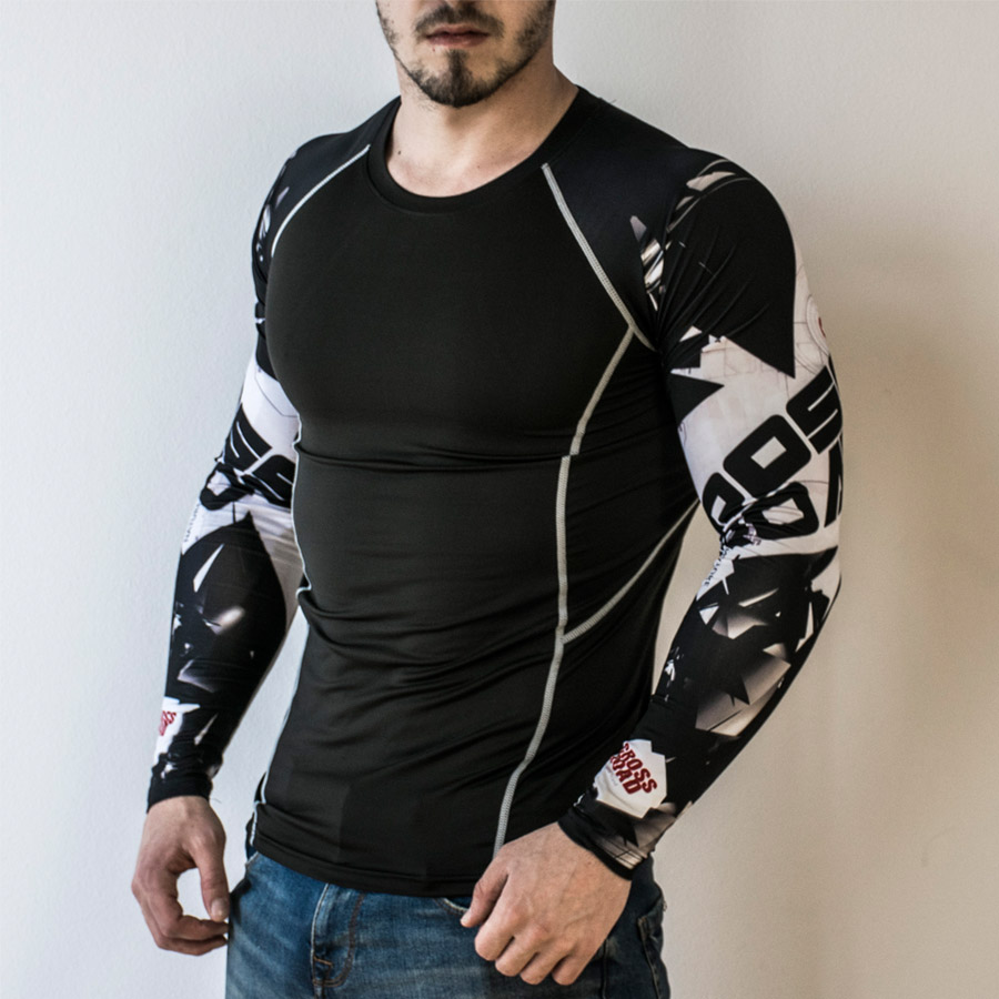 Teen Wolf 2017 Mens Compression Shirt Slim Fit Crossfit