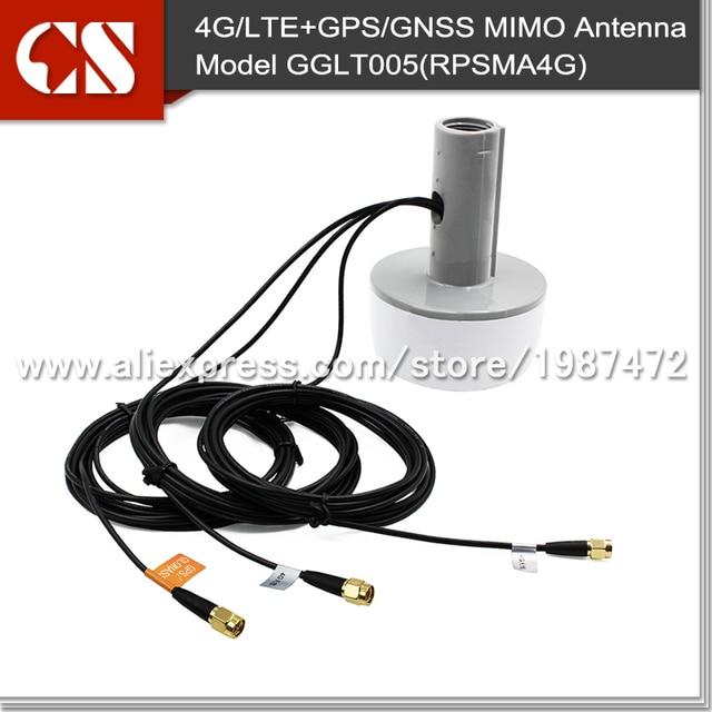 Active GPS GLONASS 4G LTE Marine AntennaBoat MIMO