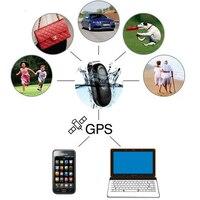 חיות מחמד כלבים ילד איתור גשש GPS עמיד למים רכב GPS GSM/GPRS מעקב קישור Google מכונית אופנוע איתור אזעקת SOS