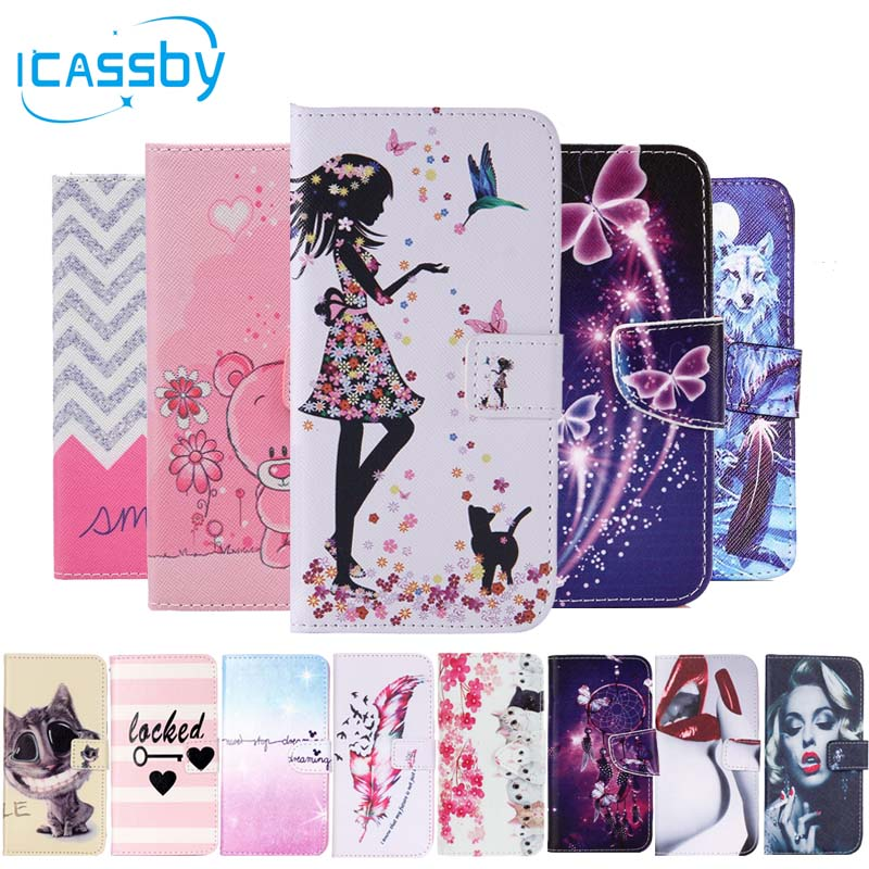 Cell Phone Accessories Romantic Coque Etui Housse Simili Cuir Premium Book Samsung Galaxy Portefeuille Cover Cell Phones & Accessories