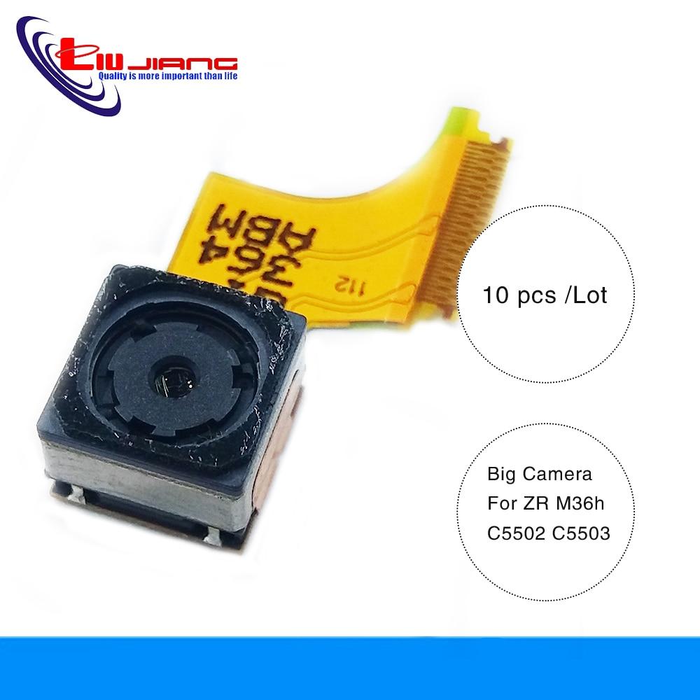 Liujiang 10 Pcs Original Mobile Phone Parts For Sony Xperia ZR M36h C5503 Rear Back Camera Main Big Camrea Module Flex Cable