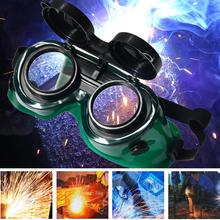 Protective Glasses Working Glasses Eyewear Safety Welding Goggles Eyes Glasses Durable Flip-Up Eyes Protection Safety Lenses