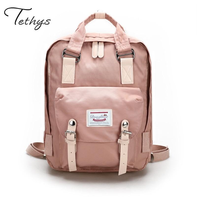 Women Backpack High Quality Cute Canvas Backpack Female School Bags