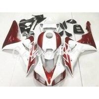 Fits for Honda CBR1000RR 2006 2007 ABS Fairing Bodywork Set Black & White & Red