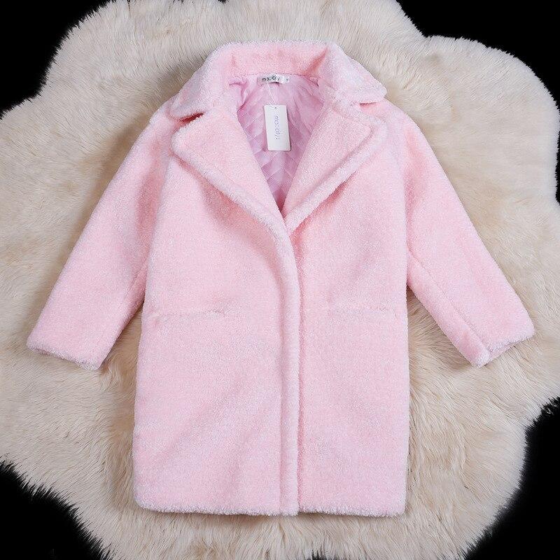 Vêtements Long Cisaillé Américain Et Pardessus Faux Mode Fourrure rose noir Moutons Manteau De Nouvelles Beige rouge Femmes Européen D'hiver 0911 8qwvCxCP