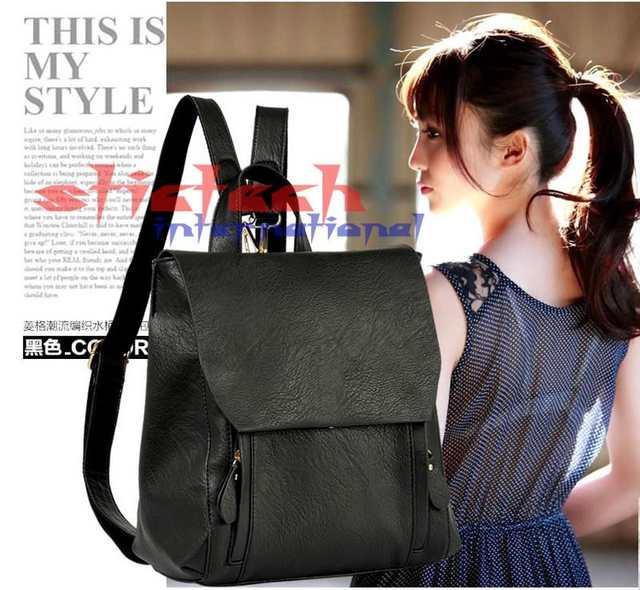 Online Shop by dhl or ems 5pcs Korean Drama Park Women leather handbag  ladies shoulder bags with double shoulder belt women tote bolsas  759780113b5