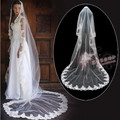 Hot-selling bridal veil 3 meters ultra long veil laciness wedding accessories bridal veil gloves