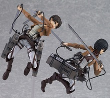 Titan legion Scouting shingeki no Kyojin Levi Figma Action Figure Model