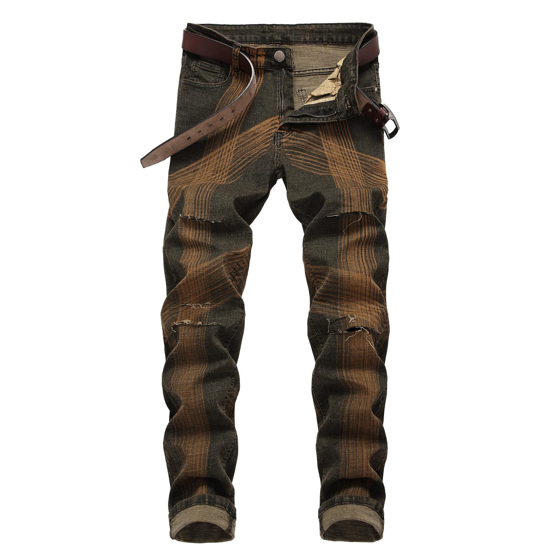 42 b c Pantalon e Grande Stretch A Denim Masculina Casual Slim Automne Jean f Male Jeans Droite De Taille Hot Long Hommes d Homme Fit gwp4qRnZ