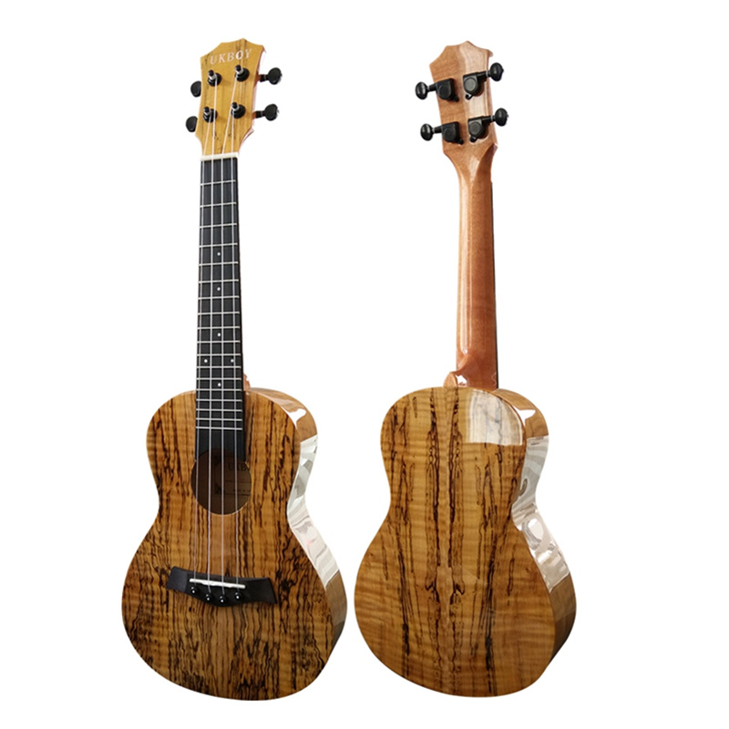 23  Ukulele decayed timber Glossy Concert Ukelele 4 Aquila Nylon strings Hawaii acoustic guitar Map pattern Rotten wood grain 12mm waterproof soprano concert ukulele bag case backpack 23 24 26 inch ukelele beige mini guitar accessories gig pu leather