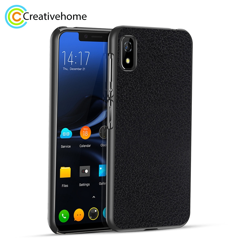 OCUBE for Elephone A4 Lichi Texture PC Protective Back Case for Elephone A4 / A4 Pro