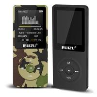 1 8 TFT Screen RuiZu X02 HiFi Reproductor Sport Music Mp3 Player FM Recorder Support TF