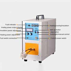 Image 2 - 15KW High Frequency Induction Heater Furnace 30 100KHz