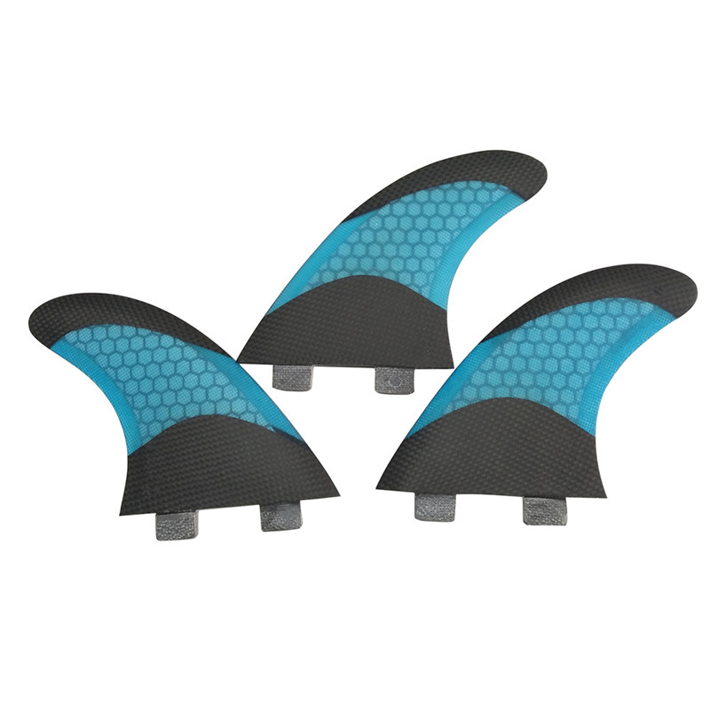 FCS G5 Surfboard Fin Bicolor Honeycomb Fiberglass Surf Fins G5 Quilhas Surfing FCS G5 Fin