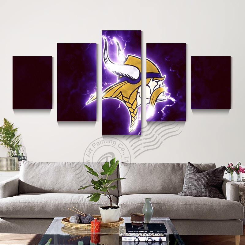 home decor stores in minnesota aliexpress comprar 5 minnesota vikings deporte logo 12535