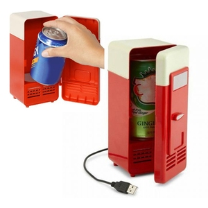 Image 5 - Mini réfrigérateur Usb congélateur à froid Mini réfrigérateur Mini Portable Soda Mini réfrigérateur pour voiture noir