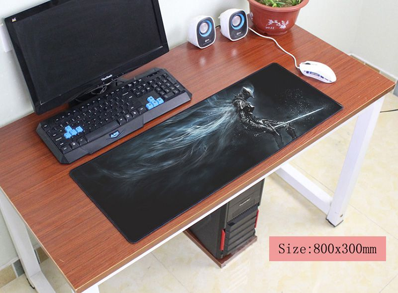 все цены на Dark Souls mouse pad 800x300mm pad to mouse notbook computer mousepad game gaming padmouse gamer to large keyboard mouse mats онлайн