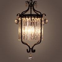 American crystal chandelier retro restaurant hallway corridor staircase staircase hanging lighting