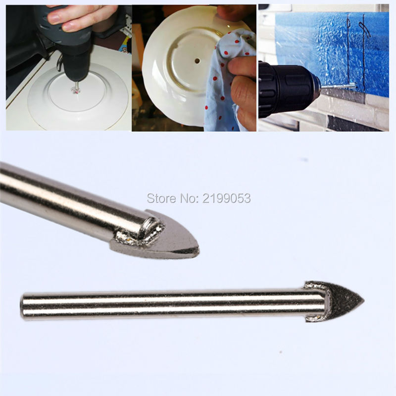 100db / tétel 5 mm-es Dia csempe üveg kerámia tükör Volfrám - Elektromos szerszám kiegészítők - Fénykép 4