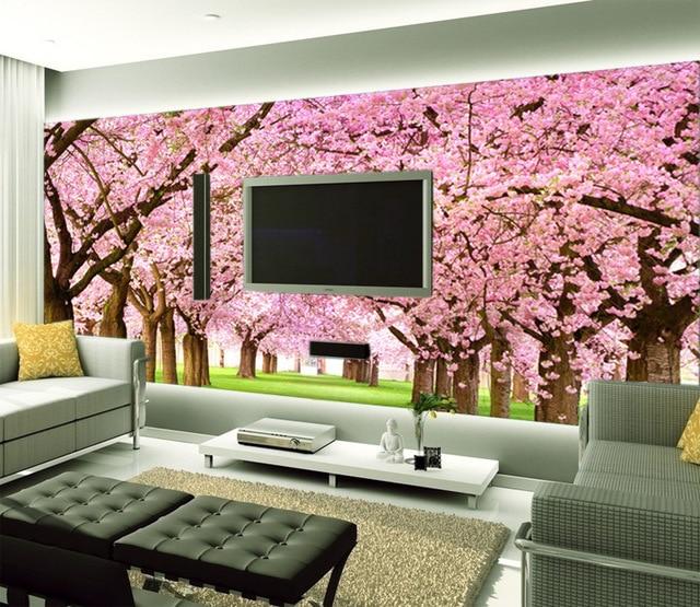 How sale 3D Square Wallpaper papel de parede living room Sofa TV ...