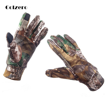 Anti-Slip Fishing Glove Keep Warm Touch Screen Hunting Camping Cycling Camouflage Outdoor Sport Winter Equipment Gloves