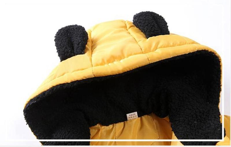 CROAL CHERIE Girls Jackets Kids Boys Coat Children Winter Outerwear & Coats Casual Baby Girls Clothes Autumn Winter Parkas (2)