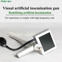 Animals Visual Insemination Gun For Cow Horse Dog Pig Fox Animal Testing Instrument Veterinary Transcervical Camera Farm Tools