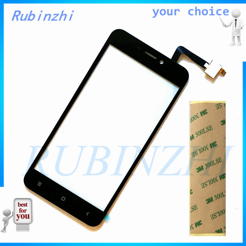 RUBINZHI Free Tape Moible Phone Sensor Touchscreen For Oukitel C9 Touch Screen Digitizer Touch Panel Replacement Touchpad