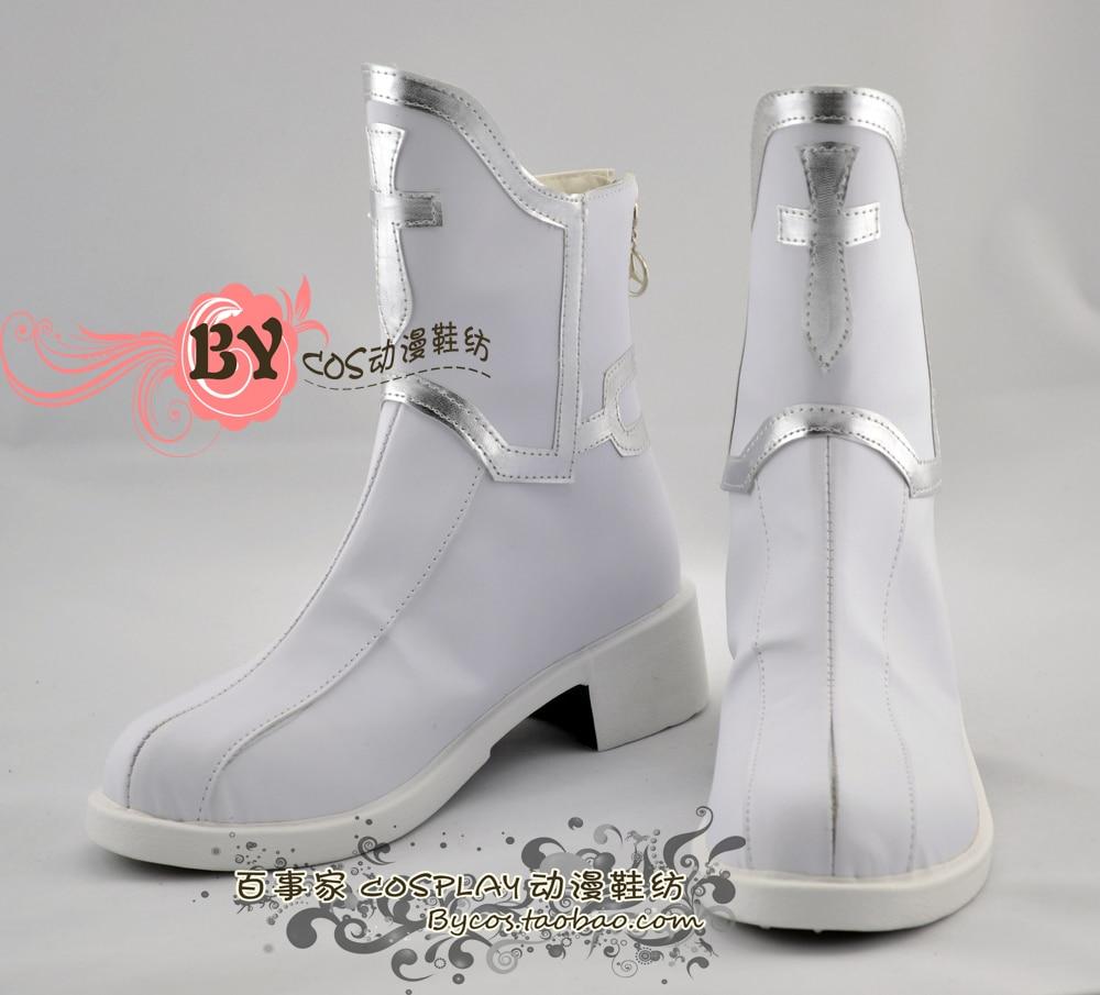 Sword Art Online Yuuki Asuna  Cosplay Shoes Boots Custom Made