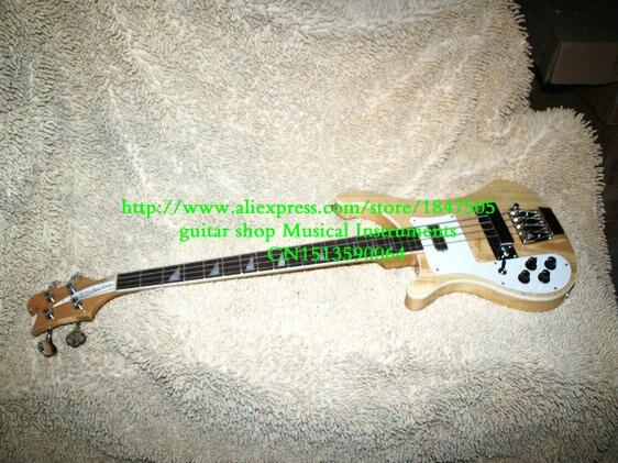 Gauche Main guitare Basse 4003 Rick Basse Électrique Guitare DANS naturel 4 Cordes Basse guitare De Chine Meilleur Vente Livraison gratuite