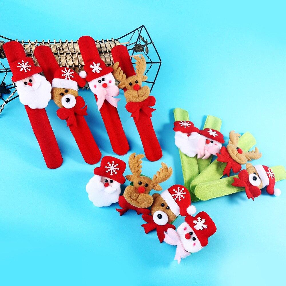 comprar unids palmaditas crculo navidad navidad pulsera pulsera regalo de los nios fiesta de ao nuevo juguetes pat